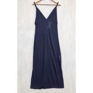 NWT Zara sheer knit maxi dress cover up M